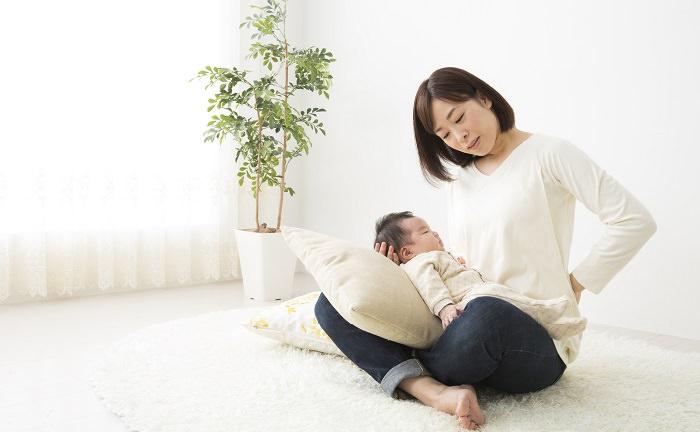 産後の骨盤のズレ