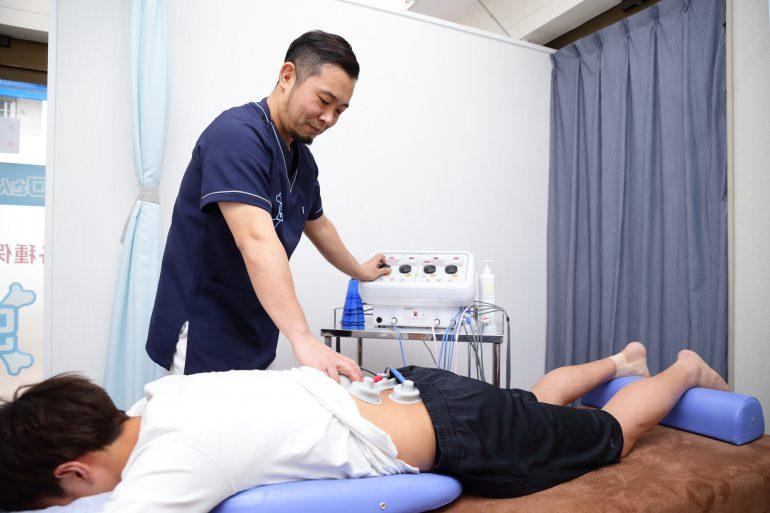 腰痛治療|上野・台東区竜泉グロさんの接骨院