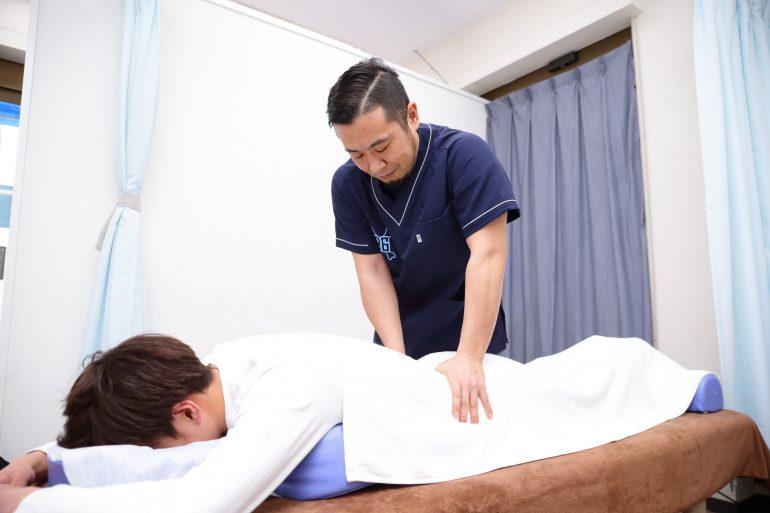 ぎっくり腰|上野・台東区竜泉グロさんの接骨院